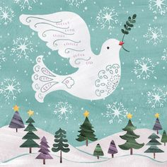 yellow house art licensing - artists - H I J K - Pink Christmas, Christmas Images, Christmas Crafts, 3d Craft, Craft Ideas, Cute Clipart, Winter Cards, Little Birds, Home Art