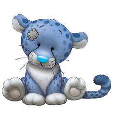 Carte Blanche - My Blue Nose Friends - Dash the Cheetah