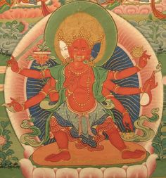 Vajra Sarasvati, Wrathful and Secret Vajra Sarasvati - Tib.: dor je yang chen ma mar mo. (nem sabia que existia uma Sarasvati na expressão irada)