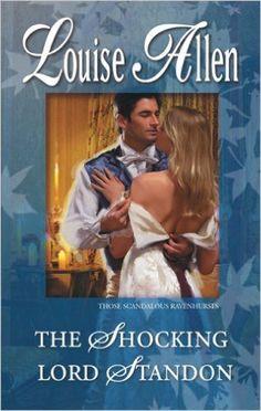 Louise Allen - The Shocking Lord Standon / #awordfromJoJo #HistoricalRomance #LouiseAllen