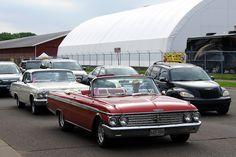 62 Ford Galaxie 500 & 62 Chevrolet Impala SS by DVS1mn, via Flickr