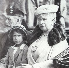 Mary and George with Princess Elizabeth