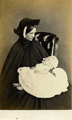 Mother and deceased baby...