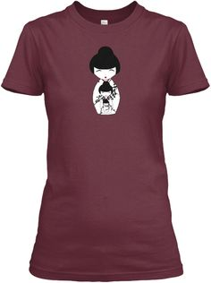 something new for women...Japanese nesting doll T-shirts
