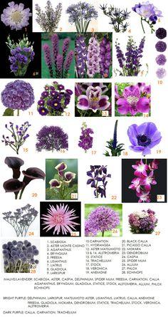 Purple - bridal bouquet | Modern Petals Blog