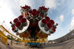 /by europeanspaceagency #flickr #ESA #soyuz #rocket #nozzle