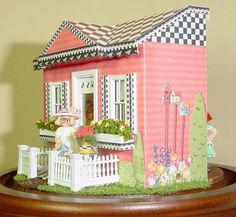Mary Engelbreit dollhouse