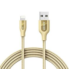 Anker PowerLine+ Lightning Cable (6ft) Durable and Fast Charging Cable [Kevlar Fiber & Double Braided Nylon] for iPhone, iPad and More, http://www.amazon.com/dp/B0177OAB3W/ref=cm_sw_r_pi_awdm_x_At20xb656502T