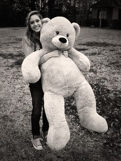 Best valentines gift ever. Giant teddy bear
