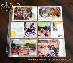 scrap junkie: Project Life ® by Stampin' Up! ®