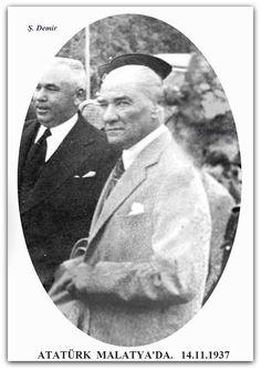 ATATÜRK MALATYA'DA. 14.11.1937