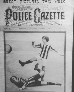 Today in 1915 The National Police Gazette New York published this picture of the Women's game on its front page. This fantastic item is just one of the objects from the Chris Unger Women's Football collection - the biggest collection on the Women's game in the world and now part of the museum's permanent collection. #womensfootball #football #newyork #frontpage #museums #OnThisDay #manchester
