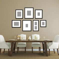 Photo Wall Display On Pinterest Frame A Mirror Wall