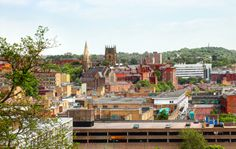 View towards the Lace Market from Nottingham Castle. Creative Cities: Nottingham | Creative Boom Blog