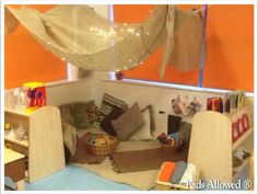 #Blog: One of our team created this great cosy area for 1-2 year old children, read our blog to find out how you can make your own! #EYFS