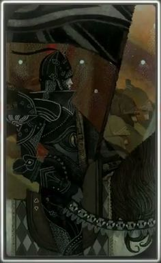 Dragon Age Inquisition character tarot cards- Cassandra