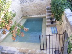 A perfect plunge pool in Uzes, France