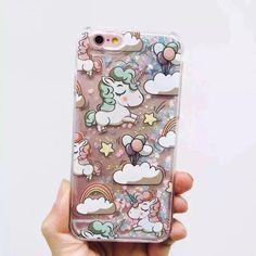 Glitter Unicorn Case iPhone 6/6S - U.C