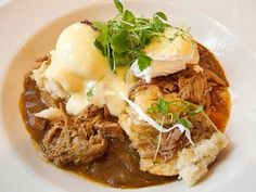 eggs cochon de lait, from New Orleans. would have killed to eat this for breakfast today!