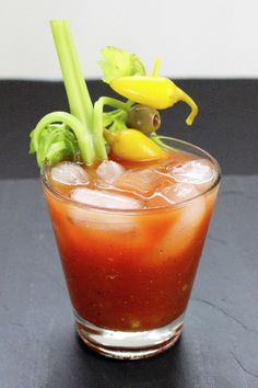Bloody Maria | A Potable Pastime. Tequila-based variant of the classic Bloody Mary, but with a twist (or two!).