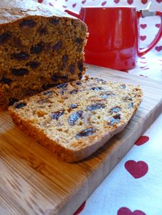 Earl Grey Fruit Tea Loaf Recipe for October 2014's 'Dark' themed Love Cake.