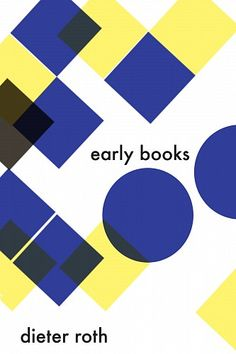 Catalogue of dieter roth early books | Installation at Gagosian Shop | from Zucker Art Books selection