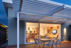 Moderne Huser Innen Mid Century Terrasse With Modern Pergola By De Mattei  Construction At Germany