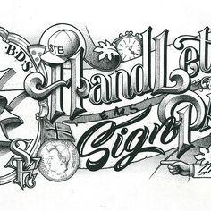 Hand-lettered header image for my portfolio.