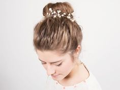Tutoriel DIY: Créer un bijou pour cheveux en perles via DaWanda.com