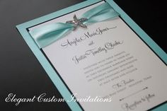 perfect idea for a beach wedding or other weddng with different embelishment!