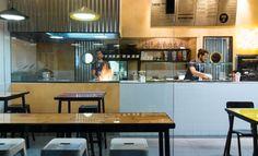 Chop Chop fast food Asian restaurant by Studio Praktik, Tel Aviv   Israel restaurant branding branding