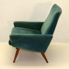 Retro Armchair By Parker Knoll .Vintage Item in good condition.-Circa 1960. | eBay♡