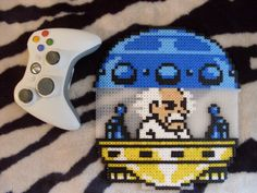 Megaman - Dr Willy Perler Bead Sprite - Pixel Art by BigBossFF