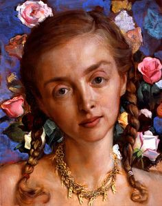 John Currin- Rachel in the Garden, 2003