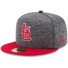 St. Louis Cardinals New Era Shadow Tagged 59FIFTY Fitted Hat - Heathered  Gray Red 218f17a1a1