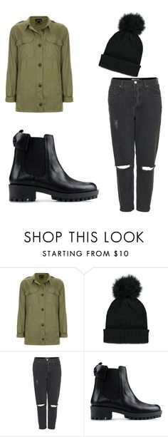 """""""Untitled #136"""" by doda-laban on Polyvore featuring Topshop, Forever 21 and RED Valentino"""
