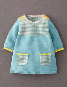 I've spotted this @BodenClothing Stripy Knitted Dress Duck Egg