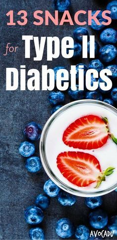Do you or a loved one have type II diabetes? If so, finding healthy snacks can be difficult, especially when trying to control blood sugar. These can help you lose weight and kick the diabetes for good! http://avocadu.com/13-snacks-type-ii-diabetics/
