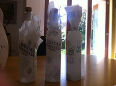 good or bad ideas! Vodka Bottle, Drinks, Ideas, Vodka, Drinking, Beverages, Drink, Thoughts, Beverage