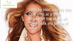 Céline Dion - Recovering [Lyrics Official] written by Pink