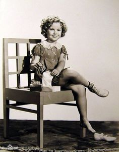 Dorothy Dell and Shirley Temple stared together in Little