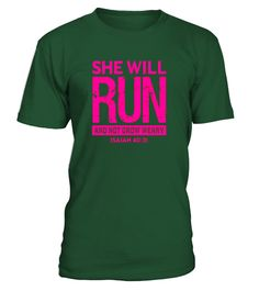 "# She Will Run And Not Grow Weary Isaiah 40:31 Shirt .  Special Offer, not available in shops      Comes in a variety of styles and colours      Buy yours now before it is too late!      Secured payment via Visa / Mastercard / Amex / PayPal      How to place an order            Choose the model from the drop-down menu      Click on ""Buy it now""      Choose the size and the quantity      Add your delivery address and bank details      And that's it!      Tags: This inspirational and uplifting…"