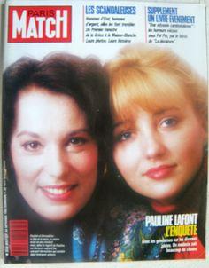 Bernadette Lafont et Pauline Lafont