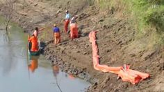 Villahermosa, Mexico: 100,000 People Are Without Water After Thieves Puncture Oil Pipeline In Mexico.