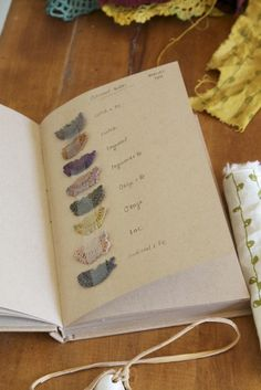 natural dyeing journal by margie