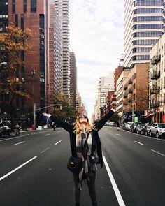"Danielle Carolan on Instagram: ""current mood: autumn in nyc"""