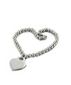 Khloe Titanium Bracelet Heart Charm, Dog Tags, Dog Tag Necklace, Charmed, Bracelets, Jewelry, Jewels, Schmuck, Jewerly