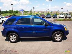 MY NEW CAR!! 2005 Chevy equinox, so excited!