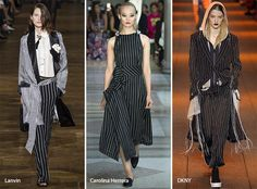 Spring/ Summer 2017 Print Trends: Pinstripes