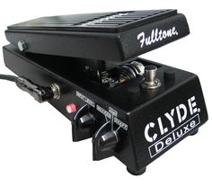 Fulltone Clyde Deluxe Wah Effects Pedal
